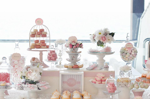 Pretty Pink Vintage Wedding Dessert Table Sugar Coated Mama