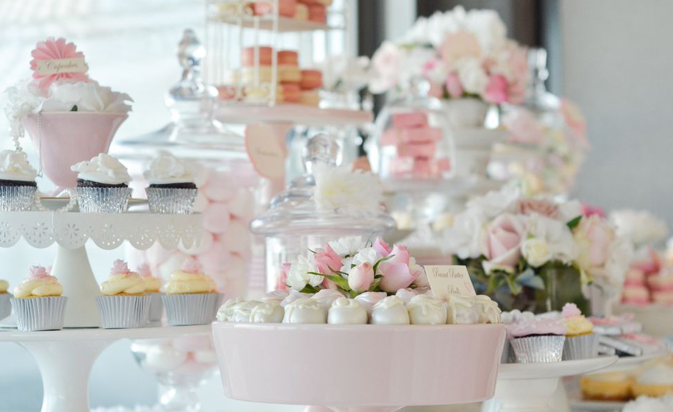 "<a href=""http://www.sugarcoatedmama.com/pretty-pink-vintage-wedding-dessert-table/"">Pretty Pink Vintage Wedding</a>"